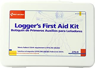 First Aid Only 16 Unit Logger First Aid Kit, 72 Count
