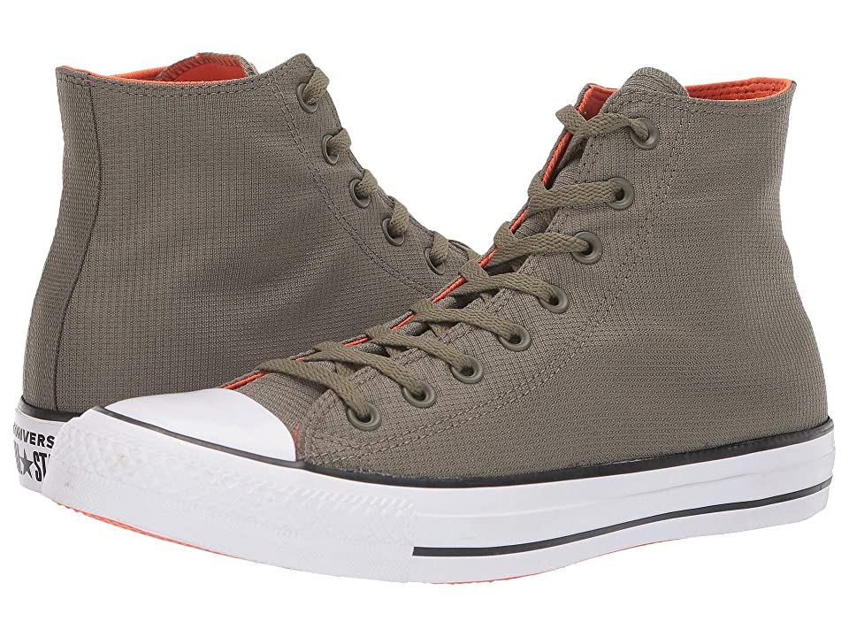 Converse Chuck Taylor All Star Sonic Quilt Hi (Field Surplus/Bold Mandarian/White) Lace up casual Shoes