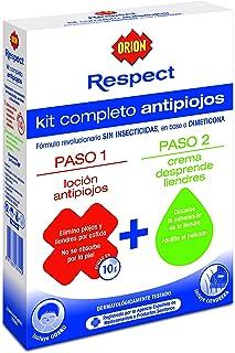Orion Respect - Kit Completo Antipiojos (Loción Antipiojos