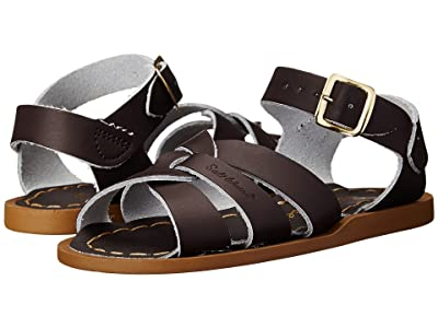 Salt Water Sandal by Hoy Shoes The Original Sandal (Infant/Toddler) (Brown) Kids Shoes