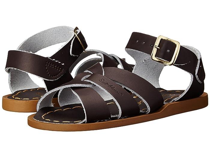 Salt Water Sandal by Hoy Shoes  The Original Sandal (Infant/Toddler) (Brown) Kids Shoes