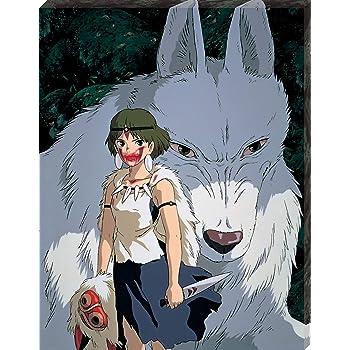 アートボード ジグソーパズル もののけ姫 モロとサン(31×24cm)