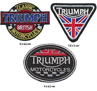 Racing Classics Vespa Mods Aufn/äher Patches 3 St/ück Motorroller Roller Piaggio Lusso Italia Italy