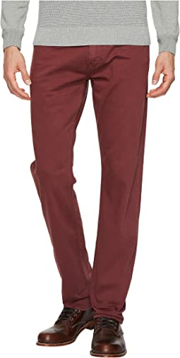 Mavi Jeans - Marcus Regular Rise Slim Straight Leg in Rosewood Washed Comfort