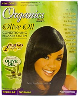 Best organics olive oil relaxer Reviews