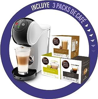 De'Longhi Dolce Gusto Genio S Machine à café en capsules avec 3 paquets de capsules Design compact Taille de boisson régla...