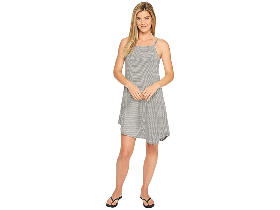 NAU Astir Strappy Dress (Caviar Stripe) Women
