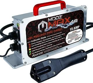 MODZ Max48 15 AMP EZGO RXV & TXT48 Battery Charger for 48 Volt Golf Carts