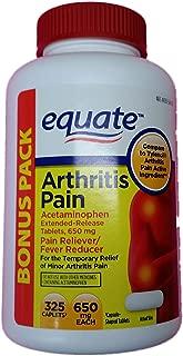 Equate Arthritis Pain Bonus Pack, Acetaminophen Extended-Release Tablets, 650 Milligram, 325 Count Bottle