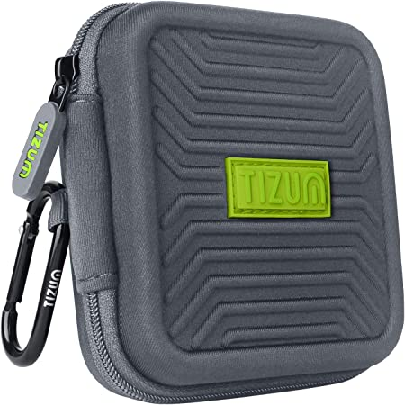 TIZUM Multi Purpose Earphone Carrying Case (Grey)
