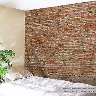 Best brick wall pattern fabric Reviews