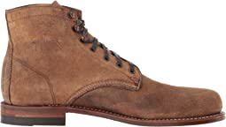 Brown Waxy Suede