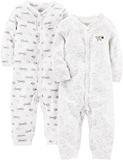 Baby 2-Pack Cotton Footless Sleep and Play