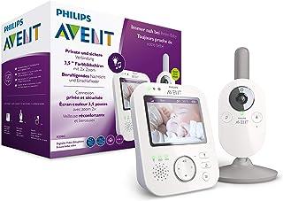 Philips Avent Digitale Videobabyfoon - 3,5 inch kleurenscherm met 2x zoom - Beveiligde verbinding - Terugspreekfunctie - S...