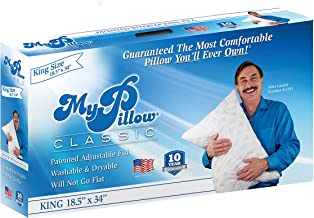 MyPillow Classic Series Now Available in 4 Loft Levels (King, Green [Firm Fill])