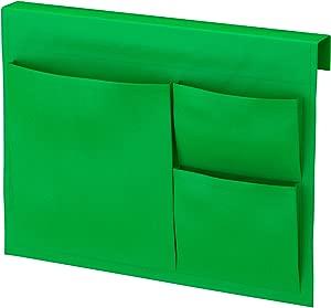 STICKAT Bed Pocket Three Pocket Storage Solution Polyester Fabric IKEA  Green