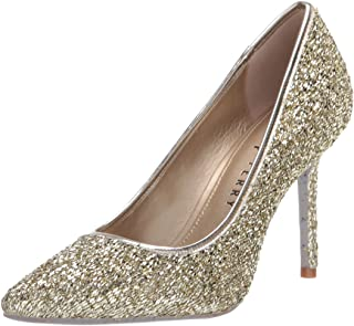 Katy Perry Women's Pump,Champagne,6 M