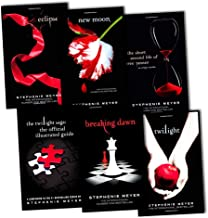 Stephenie Meyer Twilight Saga 6 Books Collection Pack Set RRP: £61.94 (The Official Illustrated Guide, New Moon, The Short Second Life of Bree Tanner: An Eclipse Novella, Eclipse, Twilight, Breaking Dawn)