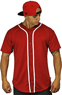 3 button baseball jersey