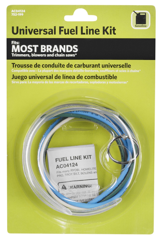 line trimmer fuel line kits amazon compowerfit ac04124 universal fuel line kit