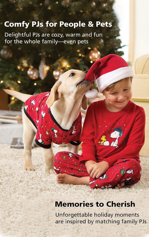 Red PajamaGram Family Pajamas Matching Sets Snoopy Pajamas