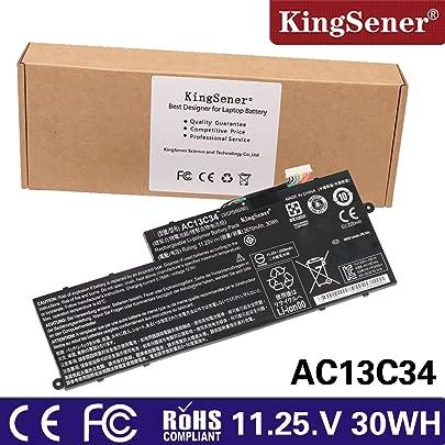 KingSener AC13C34 2640mAh Laptop-Akku f r Acer Aspire V5 122P E3 111 E3 112 Serie KT 00303 005 31CP5 60 80 Schätzpreis : 42,98 €
