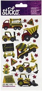 Sticko Construction Zone Sticker