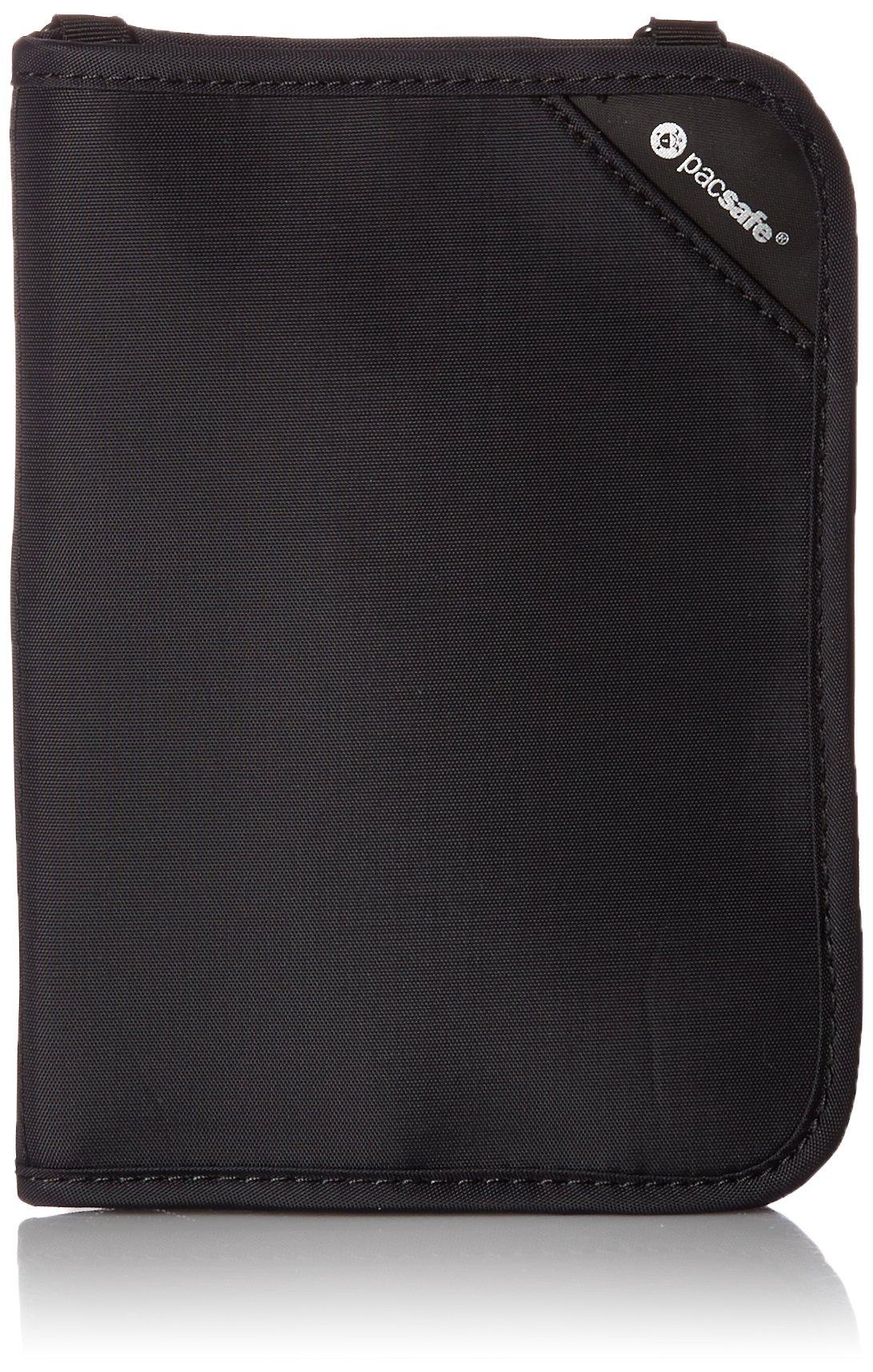 Pacsafe RFIDsafeニュートラルRFIDsafe V150シールド財布10561100ブラックワンサイズ