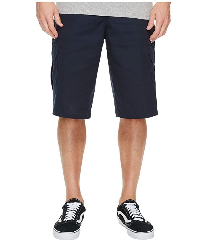 Dickies 13 Relaxed Fit Mechanical Stretch Cargo Shorts (Dark Navy) Men