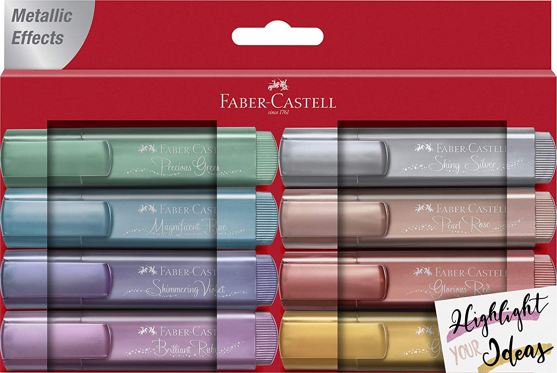 Faber-Castell TEXTLINER 1546 evidenziatore 1 pezzo i Rosso Punta sottile//smussata