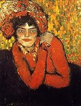 "Pablo Picasso - Margot Museu Picasso de Barcelona 24"" x 18"" Fine Art Giclee Canvas Print (Unframed)"