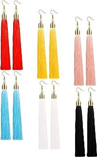long slinky earrings