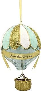 Hallmark Christmas Ornaments, Hallmark Signature Premium Hot Air Balloon Glass Ornament