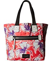 Marc Jacobs - Spotted Lily Printed Biker North/South Tote