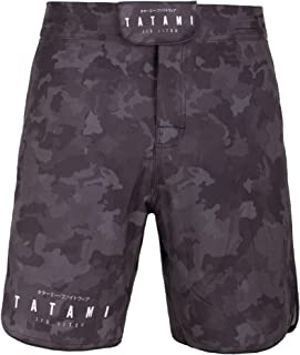 Tatami Fightwear Stealth Fight Shorts Men's Pantalone Cortos Hombre BJJ MMA Boxeo Grappling Fitness No Gi Kickboxing