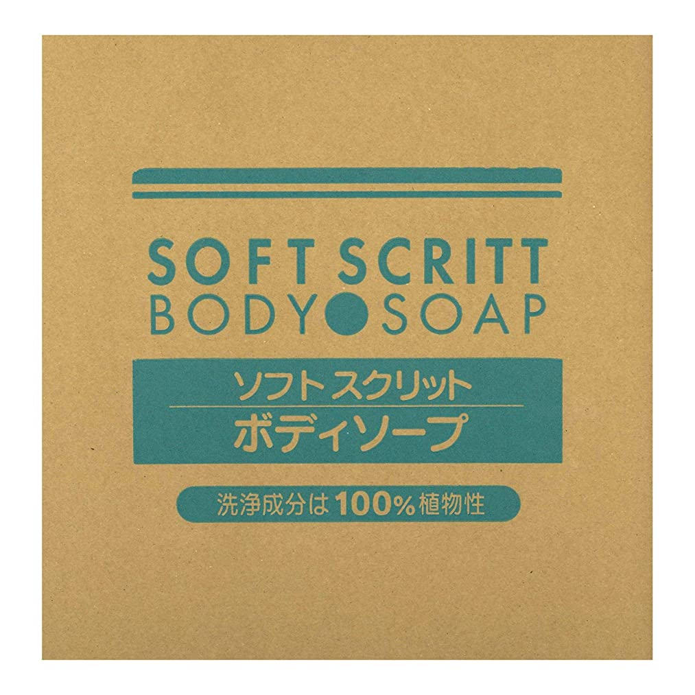 ポークオセアニア理想的には熊野油脂 業務用 SOFT SCRITT(ソフト スクリット) ボディソープ 18L