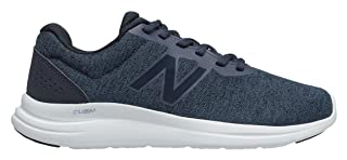 New Balance Side Printed Logo Contrast Sole Lace up Sneakers For Women
