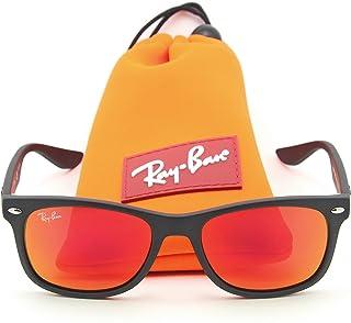Ray-Ban RJ-9052S 100S6Q New Wayfarer JUNIOR Sunglasses Matte Black, 48mm