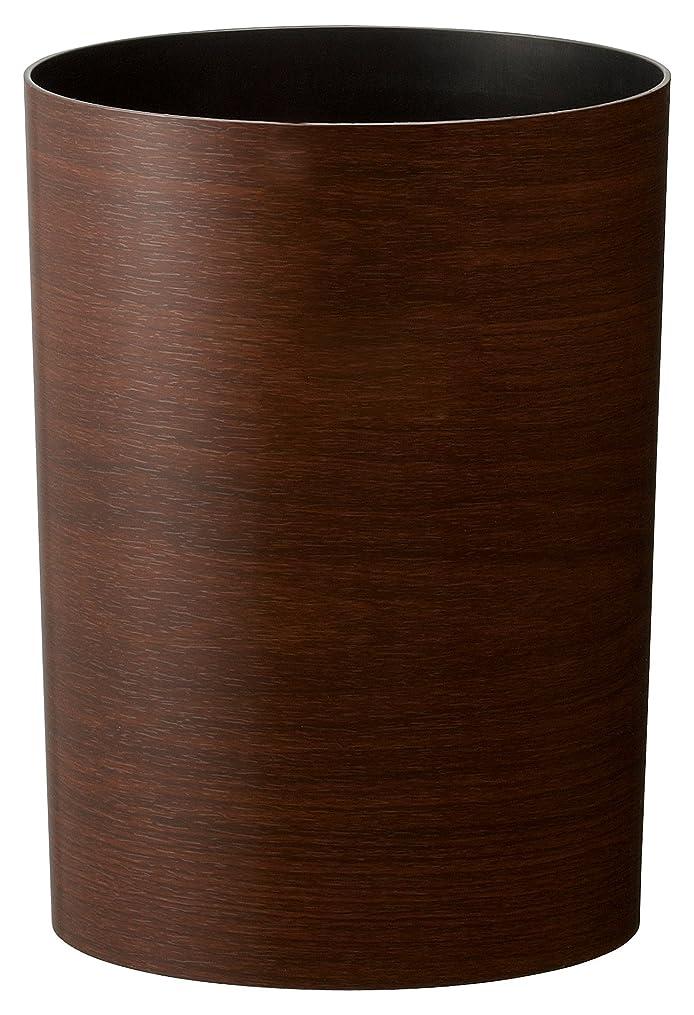好み属するアーティストアスベル 木目調ゴミ箱S 「ルクレールコレクション」 4.7L ブラウン