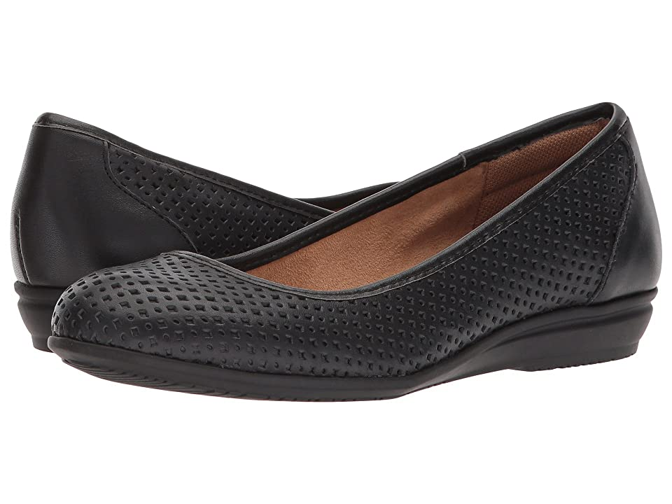 Comfortiva Electra (Black Cow Quilin) Women