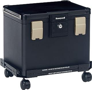 Honeywell Safes & Door Locks - Honeywell Safes & Door Locks Fire Waterproof Filing Safe Box Chest with Wheel Cart 1106W, M...