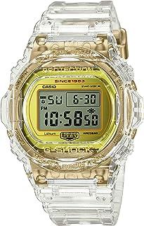G-Shock - Casio G-Shock DW-5735E-7JR Glacier Gold 35 Aniversario Reloj esqueleto transparente resistente a los golpes (productos originales japoneses)