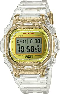 Casio G-Shock DW-5735E-7JR Glacier Gold 35th Anniversary Clear Skeleton Shock Resistant Watch (Japan Domestic Genuine Products)