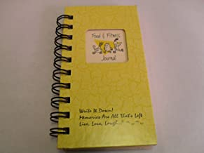 product image for 1 X Food & Fitness Journal - MINI Buttercup Hard Cover NEW TITLE!