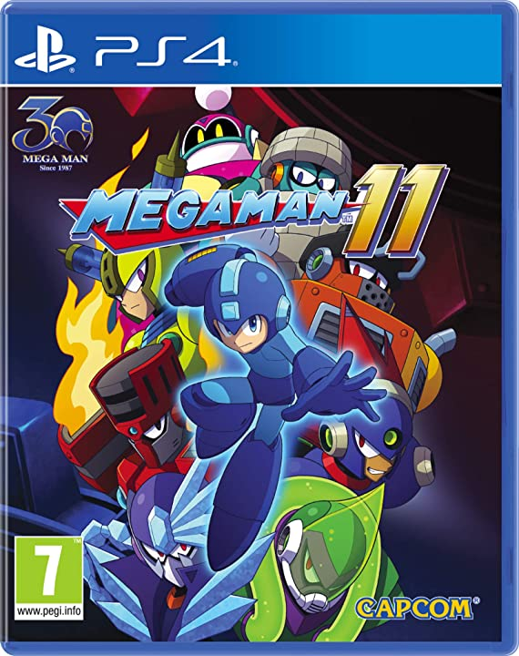 Megaman 11 - playstation 4 SP4M20