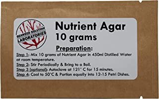 Nutrient Agar 10 Grams (Dehydrated)