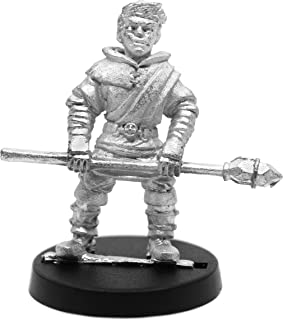 Stonehaven Male Human Adept Miniature Figure (for 28mm Scale Table Top War Games) - Made in US