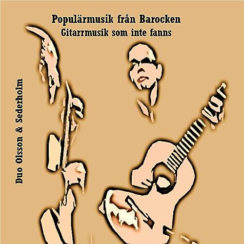 Andante från Svit nr 1 för två gitarrer
