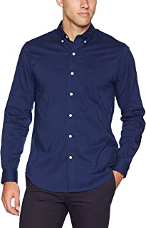 dockers Men's Long Sleeve Button Up Perfect Shirt