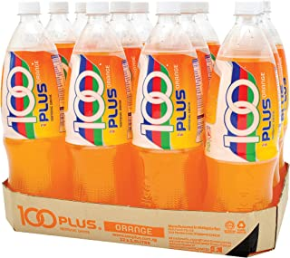 100 Plus Isotonic Drink, Orange, 1.5L (Pack of 12)